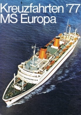 Travel Brochures From The S And S - Cruise ship brochure